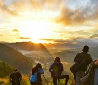 ascension du mont batur avec lever de soleil magnifique combinaison rafting a ubud