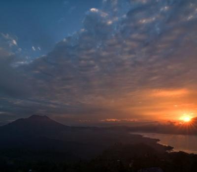 Randonnée à Bali mont batur et telaga waja rafting tres exceptionelle , balilabelle