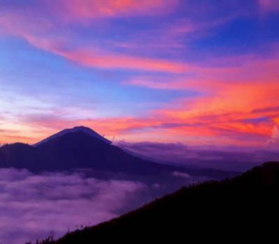 ascension le mont batur,bali (indonesie)