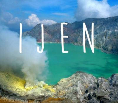 ascension du mont ijen ,et masque et tuba( menjangan )