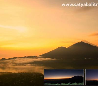 ascension du mont Batur très impressionnant