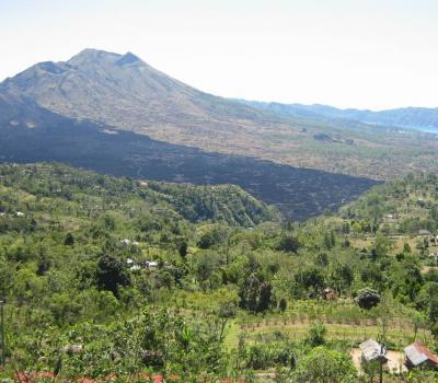 Mont Batur: Volkswagen Jeep Volcano Safari entourer le volcan
