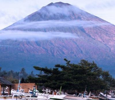 voyage à bali avec activité de la randonnée au mont agung -balilabelle