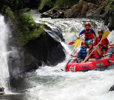 escalade au mont batur avec lever de soleil magnifique- combinaison rafting a ubud