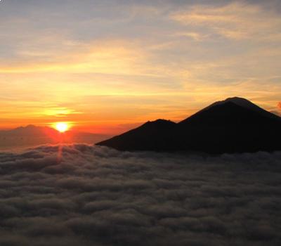 la randonnée du mont Batur à Kintamani,bali balilabelle