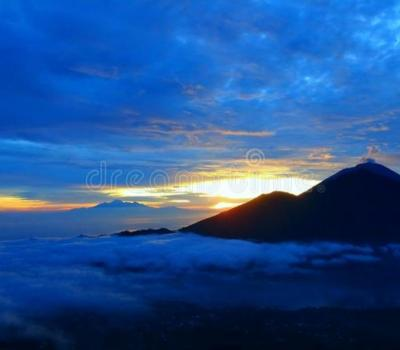 randonnée au mont Batur et Penglipuran (le village traditionnel),balilabelle