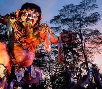 le sens et la tradition de la célébration de Nyepi à Bali 2020