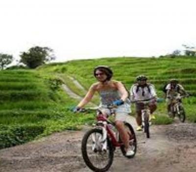 jatiluwih VTT, bali balade  à pied très belle vue sur les rizières en terrasses