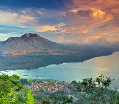 Mont Batur Trek avec une combinaison de rafting à Bali 2020