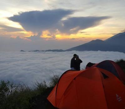 la rondonnée au mont Batur est très incroyable, surtout avec le lever du soleil