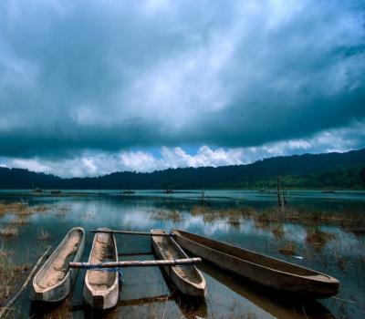 randonnée  à jatiluwih combanaison avec canoez au lac tamblingan