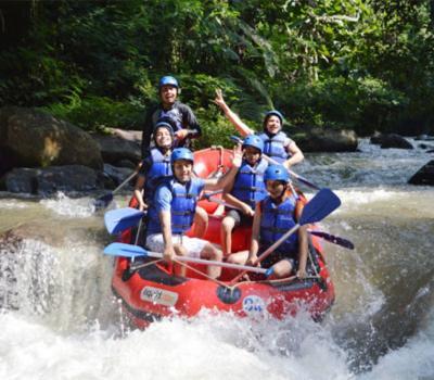 l'ascension du mont batur tres impressionant combanaison rafting (ayung river)