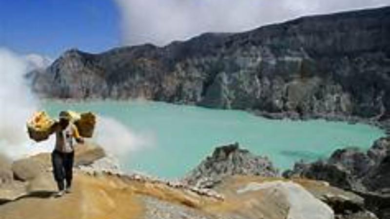 excursion escalade du mont ijen