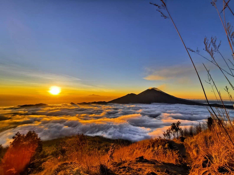 Très belle randonnée au mont Batur avec la beauté de Sunrise, Bali