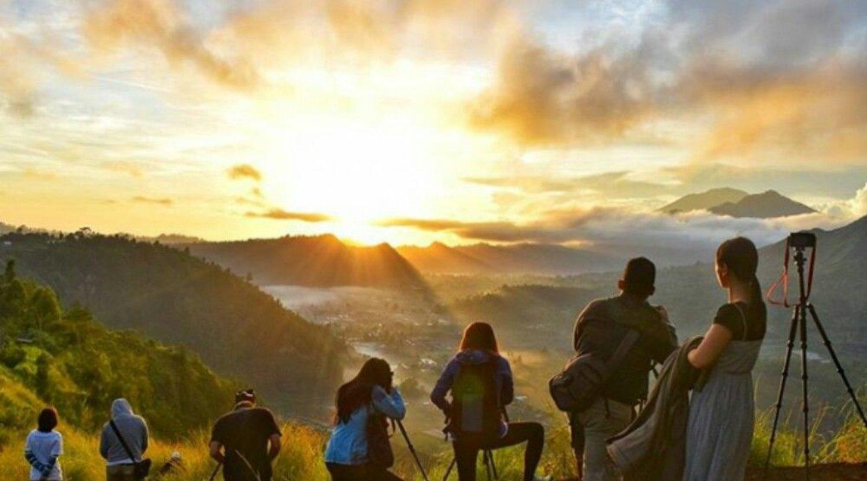 Incroyable faites l'ascension du mont Batur, Kintamani Bali