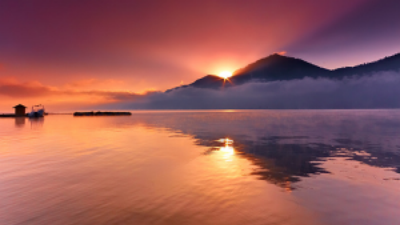 volcan et Lac Batur , randonnée à bali  - Kintamani, Paysages  tres Exotiques,balilabelle
