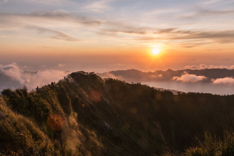 volcan batur randonnée à bali et la cascade tegenungan,balilabelle