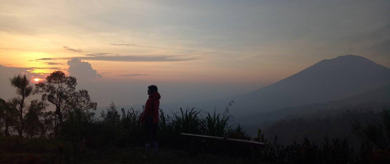 L'ascension du mont Batur, situé à Kintamani, et bali rafting