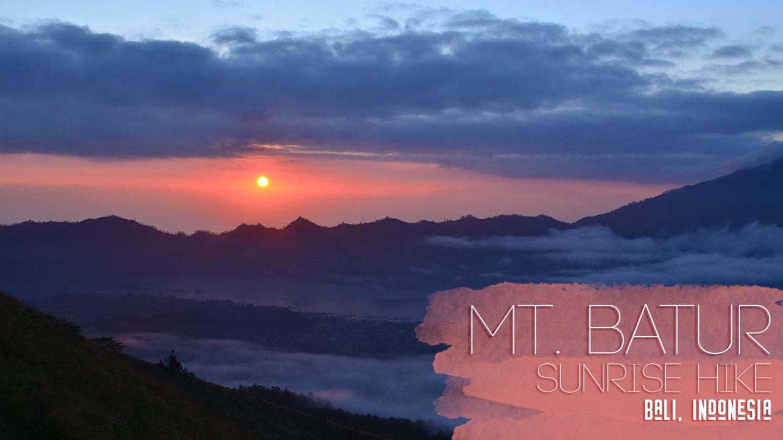 mont batur-Randonnée à Bali  tres exceptionelle avec balilabelle