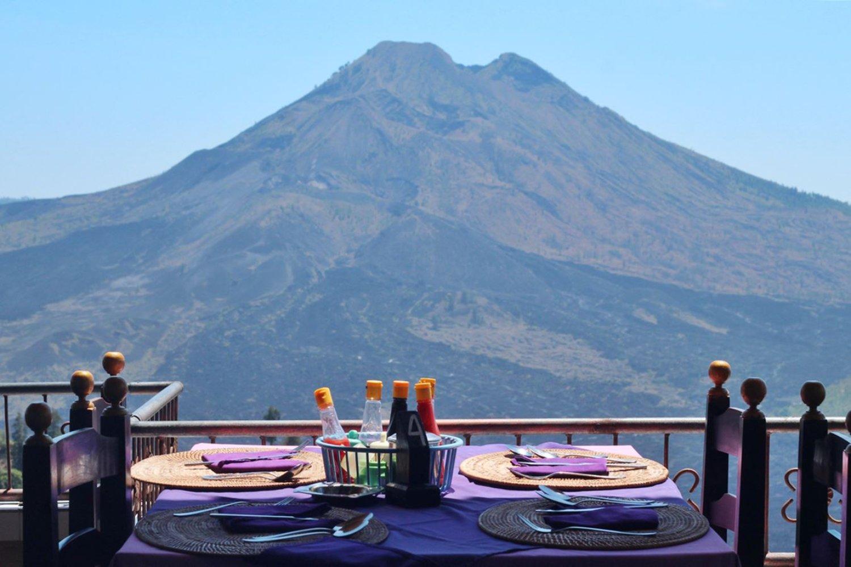 randonnée au  lever de soleil au mont Batur, et cours de cuisine