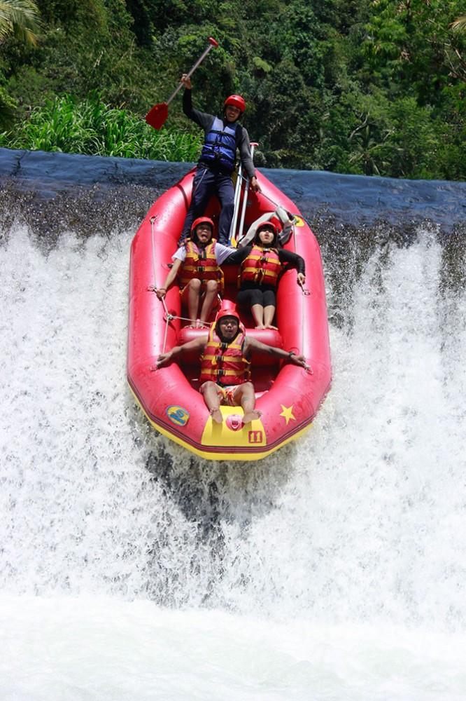 faites du rafting sur la riviere d'ayung a ubud