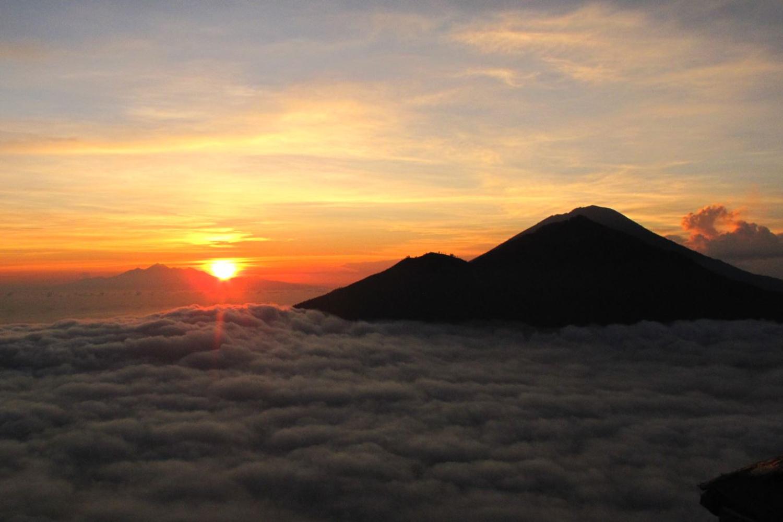 Incroyable randonnée du mont Batur, Kintamani Bali
