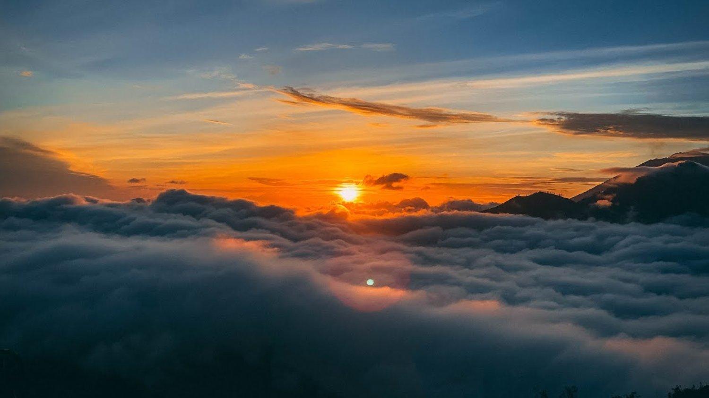 voyage à bali  ,Monter le Mont Batur  avec le lever du soleil est incroyable et inoubliable