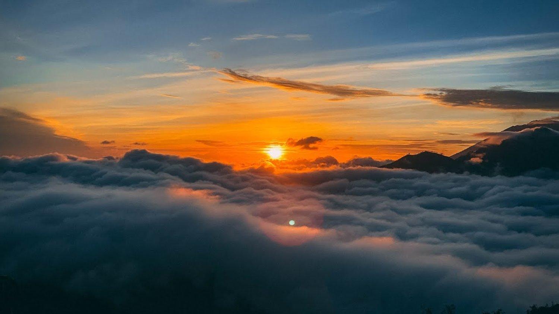 ascension du mont batur,vue très imprenable