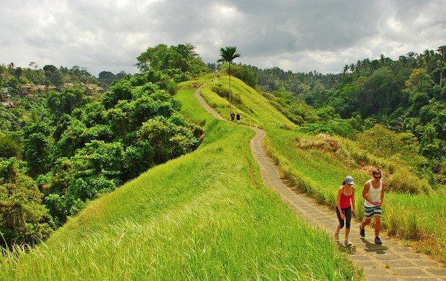 randonnée dans les environs  d'ubud avec un guide francophone balinais-balilabelle