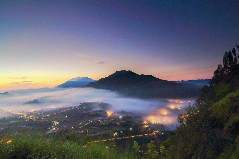 randonnée sur le mont Batur tres etonnant