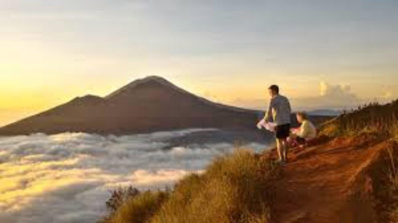 randonnée batur mountain bali, il est très sûr de gravir le lever du soleil