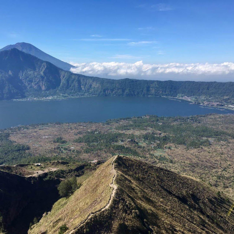 Bali randonnée au Mont Batur  au lever de soleil  avec un guide expérimenté