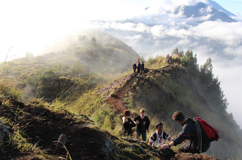 ascension du mont Batur à Kintamani,bali