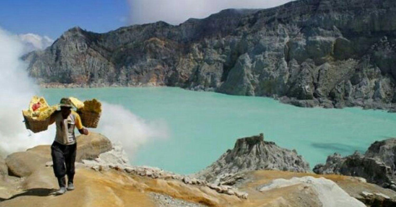 voyage à bali , faites la randonnée au mont ijen a java depuis bali-balilabelle