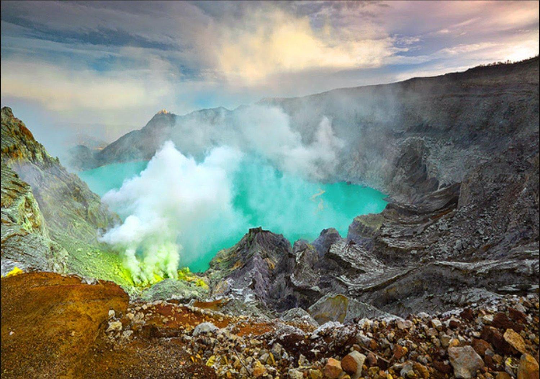 explorez le mont ijen ''blue fire'' 2jours et une nuit