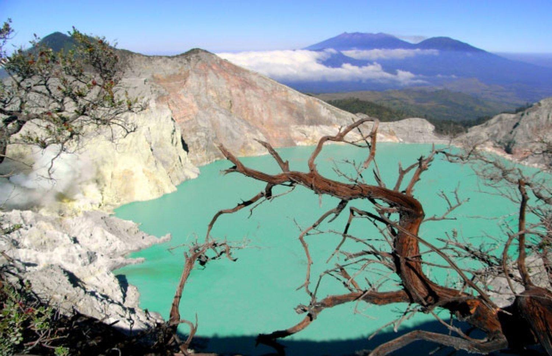Mont Kawah Ijen Blue Fire Randonnée est un voyage organisé de Bali à Java,balilabelle