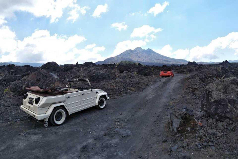 voyage à bali  l'acsension du volcan batur et balade à vélo à bali (vtt)