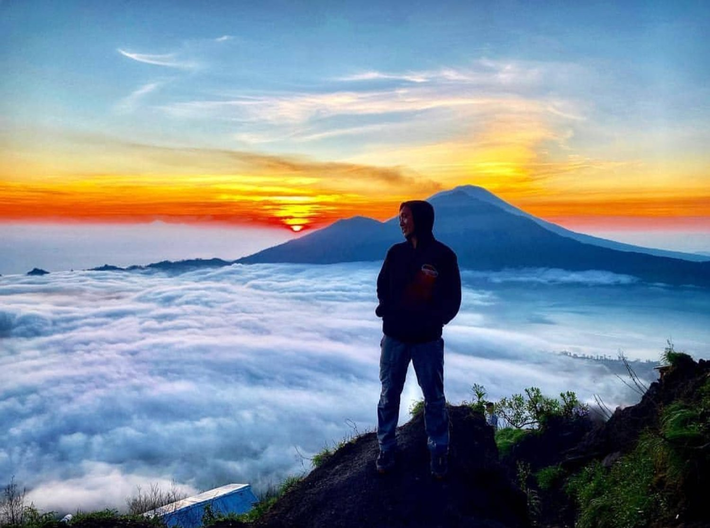 randonnée mont Batur bali et telaga Waja Rafting,balilabelle