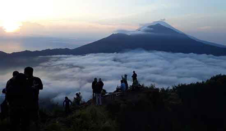 randonnée sur le mont Batur,  bali kintamani et faites du rafting ayung river