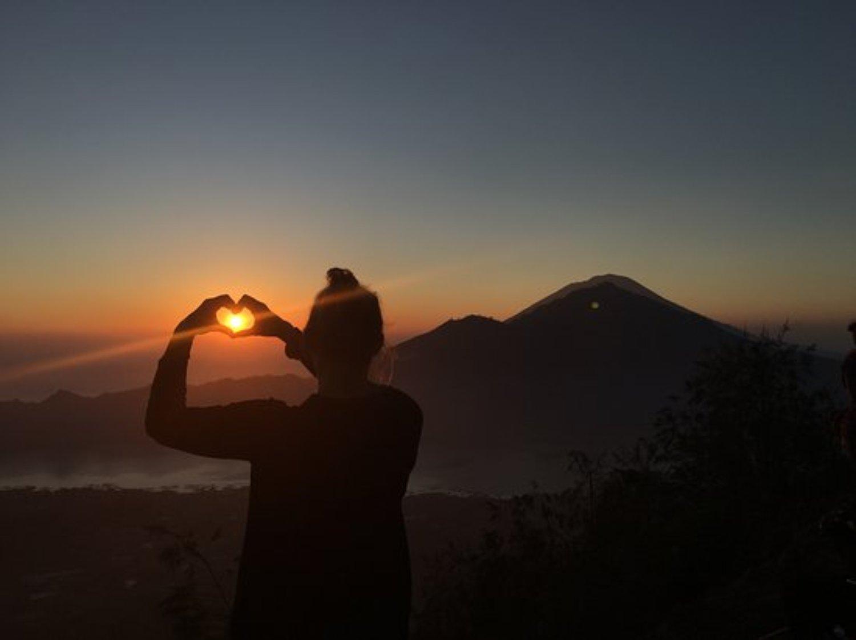 une belle randonnée au lever du soleil sur le mont Batur,balilabelle