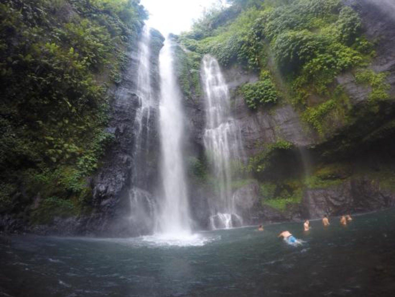 bali balade  à pied a la cascade de sikumpul