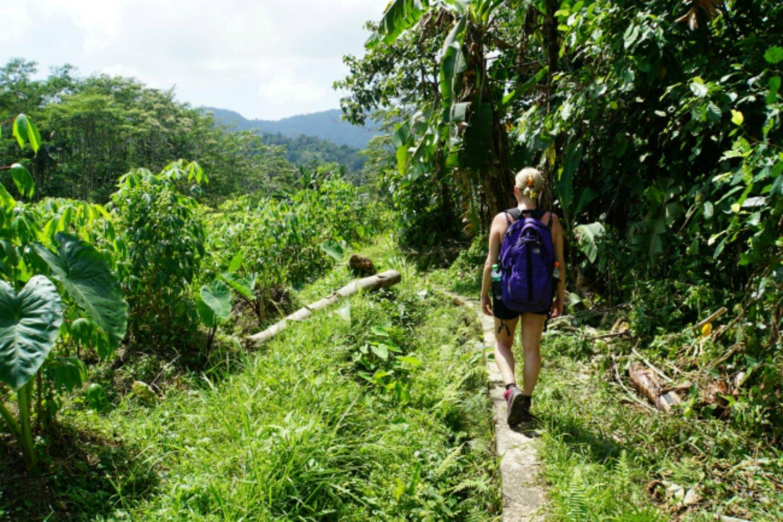 bali randonnée aventure sidemen avec de belles collines et rizières,balilabelle