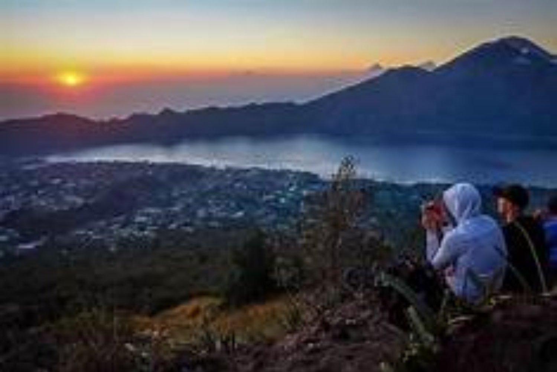 faites la randonnée sur le mont Batur, lever de soleil ,tegenungan waterfall