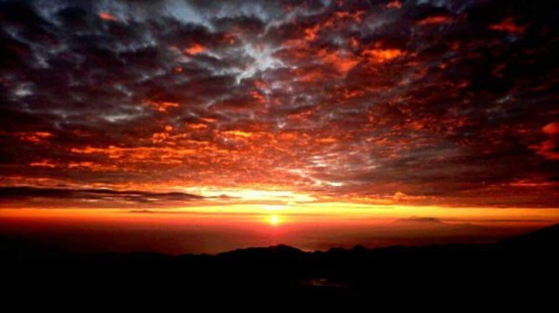 Randonnée au lever du soleil mont batur