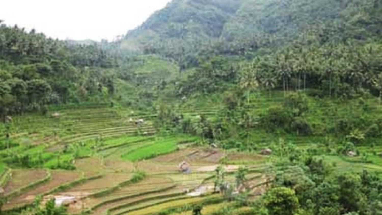 très belle promenade au village kastala ,réputé pour ses rizières encadrées par le mont Agung