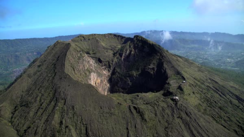 randonnée mont agung karangasem ,bali( 3142m de haut)
