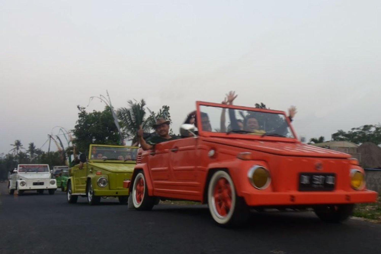 balade en voiture Volkswagen Jeep Volcano Safari-balilabelle