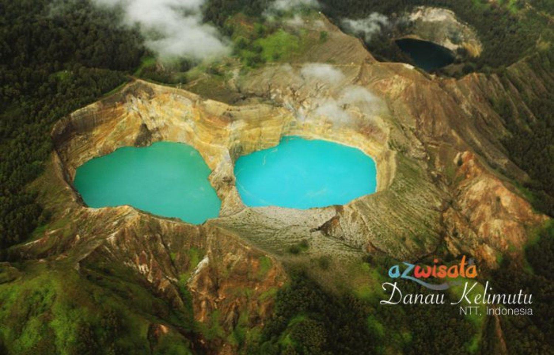 Wisata Danau Kelimutu Nusa Tenggara Timur Flores